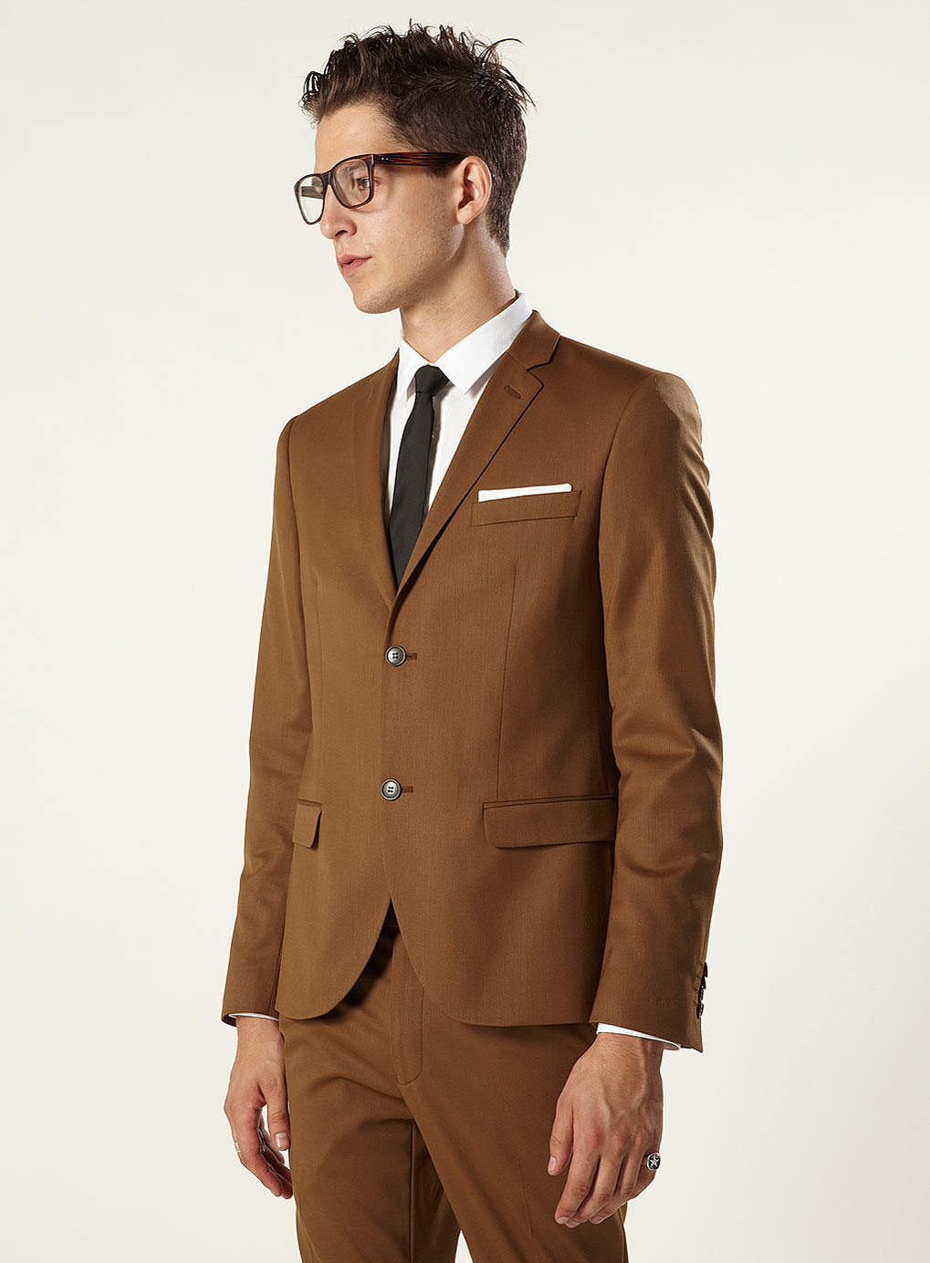 Fudge Brown Skinny Suit | Fashion Groom